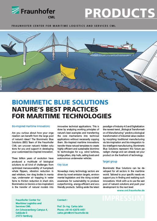 Innovative Logistics for the Maritime Industry - Fraunhofer CML